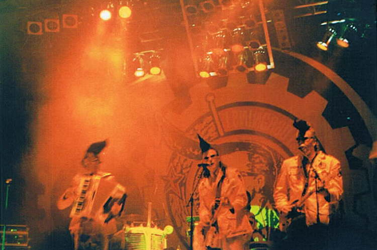 Leningrad Cowboys on Stage